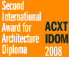 2nd International Award for Architecture Diploma
