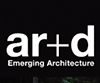 AR+d Awards for Emerging Architecture 2012