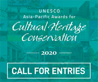 2020 UNESCO Asia-Pacific Awards  for Cultural Heritage Conservation