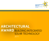 Architectural Award Building-Integrated Solar Technology 2011