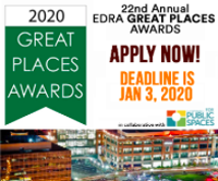 EDRA Great Places Awards 2020