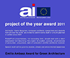 Project of the Year and Emilio Ambazs Award for Green Architecture 2011