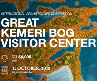 The Great Kemeri Bog Visitor Center architecture competition