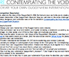 Re: Contemplating the Void—Create Your Own Guggenheim Intervention