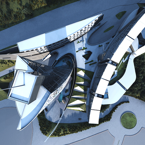 Open International Competition on the Development of an Architectural Concept for an International Business Center with an InterContinental Hotel in the City of Yerevan