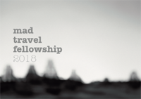 2018 MAD Architecture Travel Fellowship