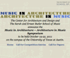 Music in Architecture - Architecture in Music - Design and Composition Competition
