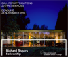 The Richard Rogers Fellowship 2017
