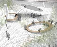 神戸三宮「さんきたアモーレ広場」デザイン募集