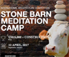 The Stone Barn Meditation Camp architecture competition