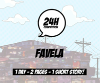 24h comics competition 1st edition - favela