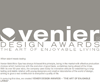 VENIER DESIGN AWARDS - The Art of Enjoyable Living