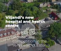 New building of Viljandi Hospital and Health Centre