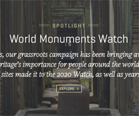 2022 World Monuments Watch