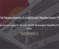 2021 World Monuments Fund/Knoll Modernism Prize