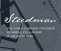 2021 The James Harrison Steedman Fellowship in Architecture